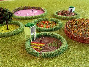 modello architettura plastico orti urbani biennale