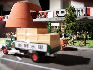 plastico modello architettura centro commerciale direzionale cina