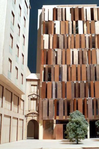 plastico modello architettura milano dordoni