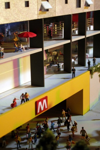 modello architettura metro