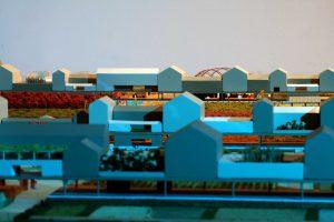 modello architettura plastico paesaggio urbano vegetazione cibic biennale