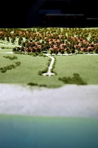 modello architettura plastico paesaggio urbano vegetazione mare
