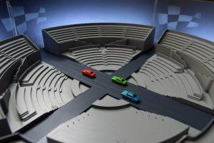 modello architettura autodromo plastico circuito auto