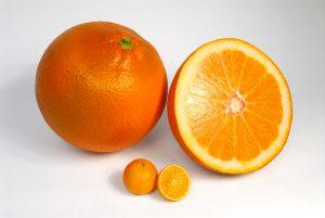 replica modello frutta in dimensione extralarge per spot tv