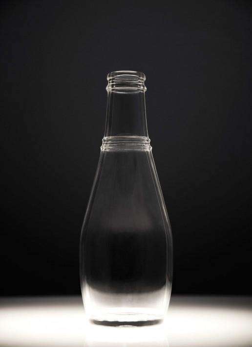 maquette modello design dimensione reale bottiglia plexi