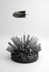 modello di paesaggio in miniatura