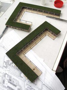 plastico modello architettura progetto e modello