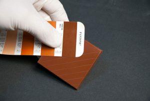 verniciatura mockup tavoletta cioccolato spot tv